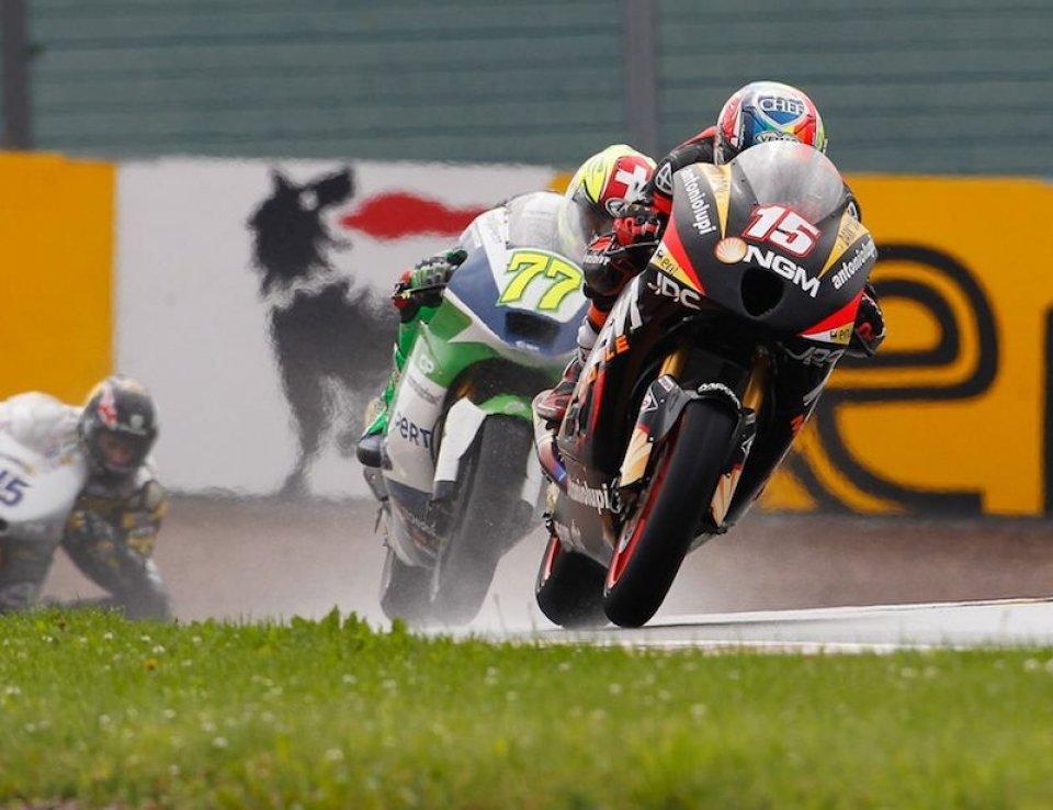 Moto - News: Moto2: colpo di reni di De Angelis