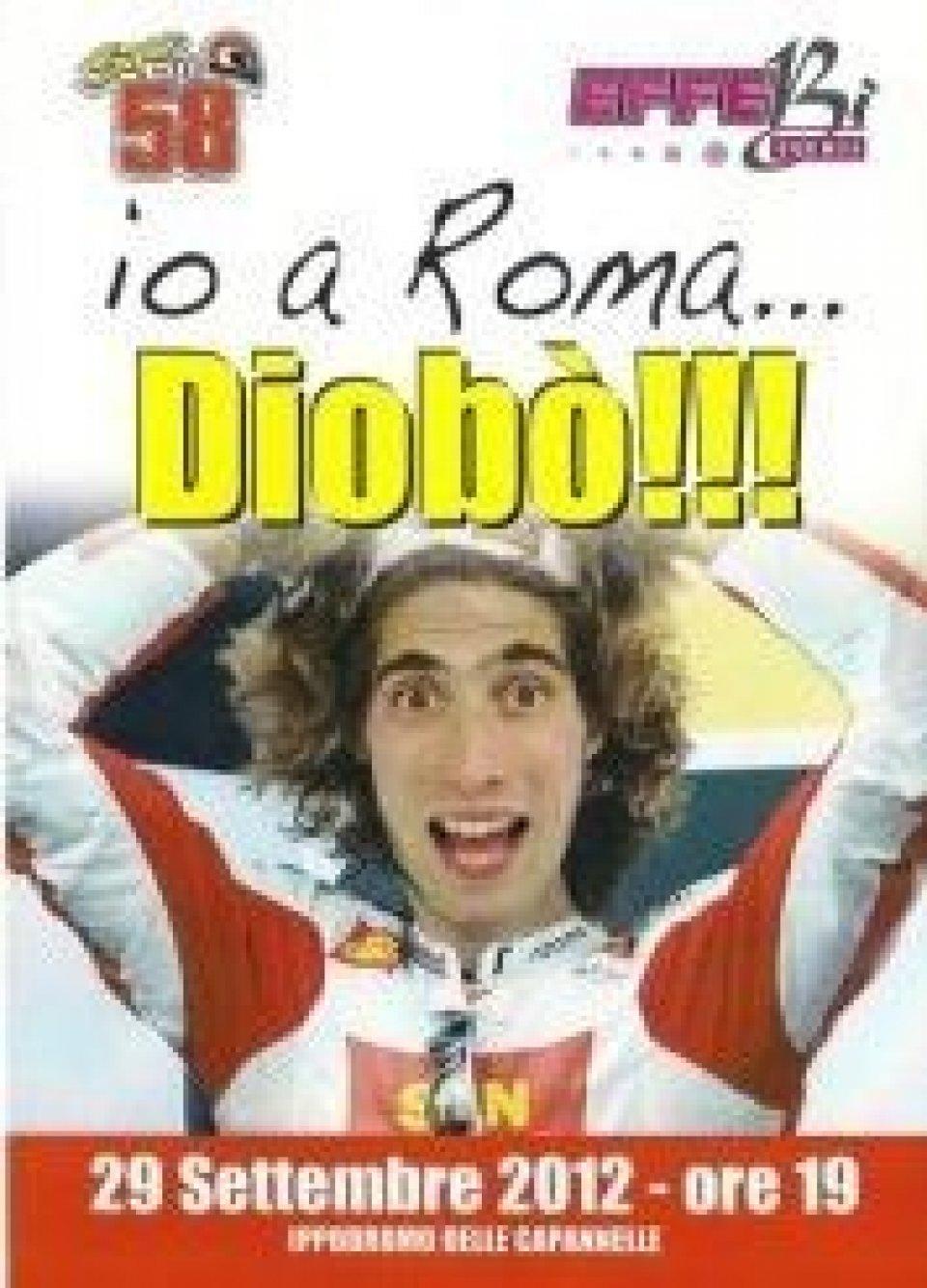 """Moto - News: """"Io a Roma...Diobò"""" dedicato al Sic"""