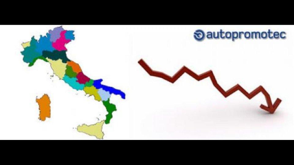 Moto - News: Autopromotec: immatricolazioni, Lazio in testa, Valle d'Aosta in coda