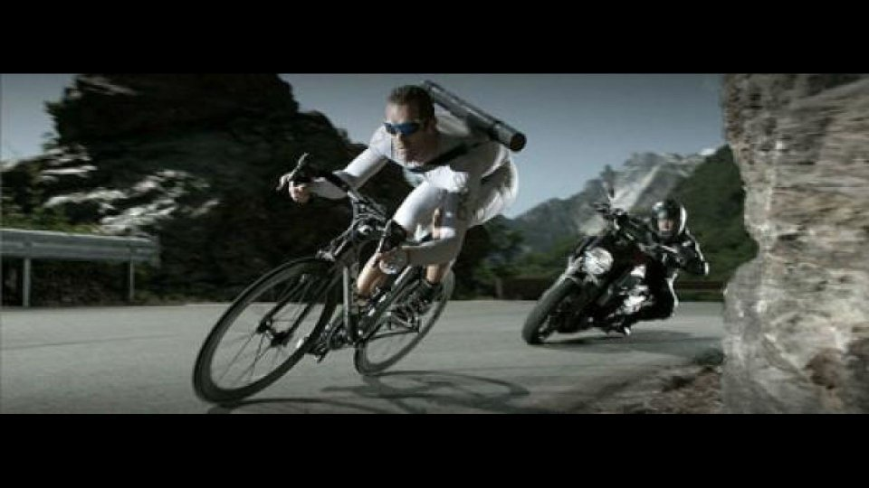 Moto - News: Mario Cipollini... in fuga!