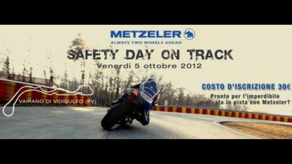 Moto - News: Metzeler Safety Day On Track 2012