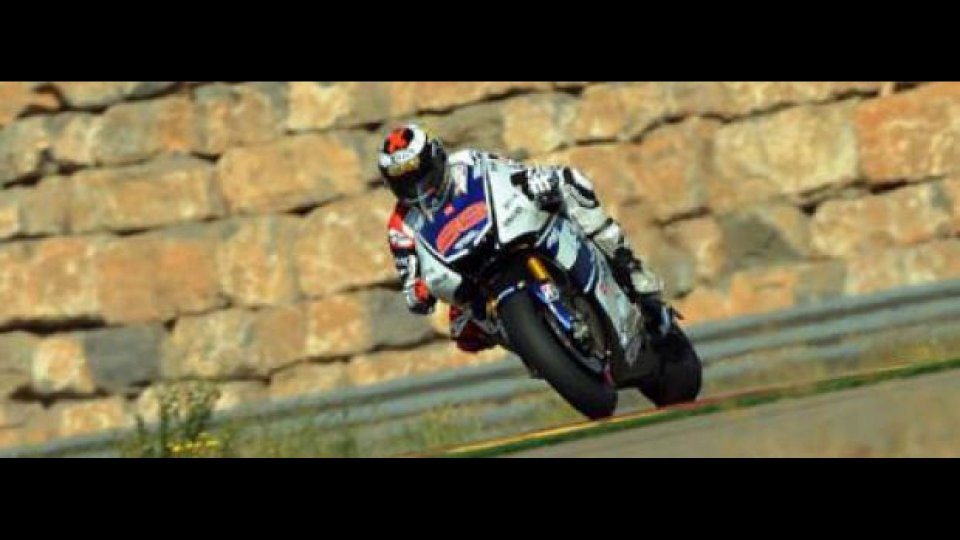 Moto - News: MotoGP 2012: Aragon, Day 2: Lorenzo replica a Pedrosa