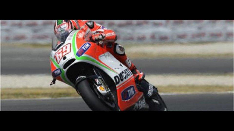 Moto - News: MotoGP 2012: Aragon, Libere 1: Ducati in testa