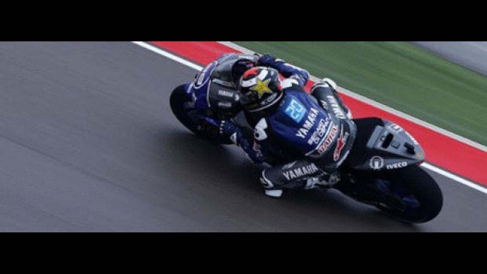 Moto - News: MotoGp 2012, Aragon: Lorenzo batte Pedrosa per la pole
