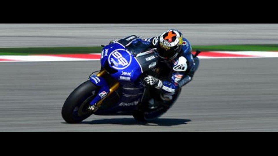 Moto - News: MotoGp, Misano: Lorenzo trionfa davanti a Valentino