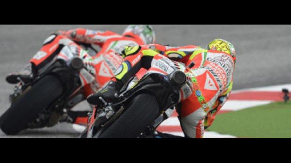 Moto - News: MotoGP: test positivi a Misano per la Ducati