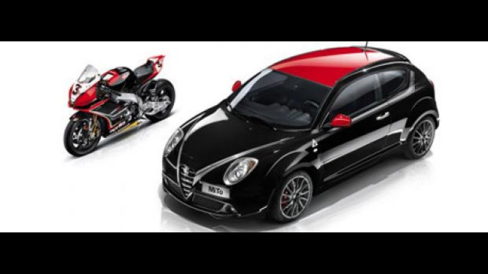 Moto - News: WordSBK e Alfa Romeo MiTo Limited Edition al Salone di Parigi