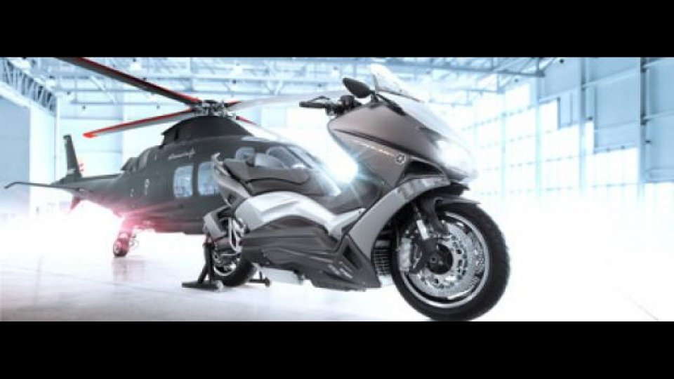 Moto - News: Yamaha TMAX Hyper Modified Capitolo II: Ludovic Lazareth