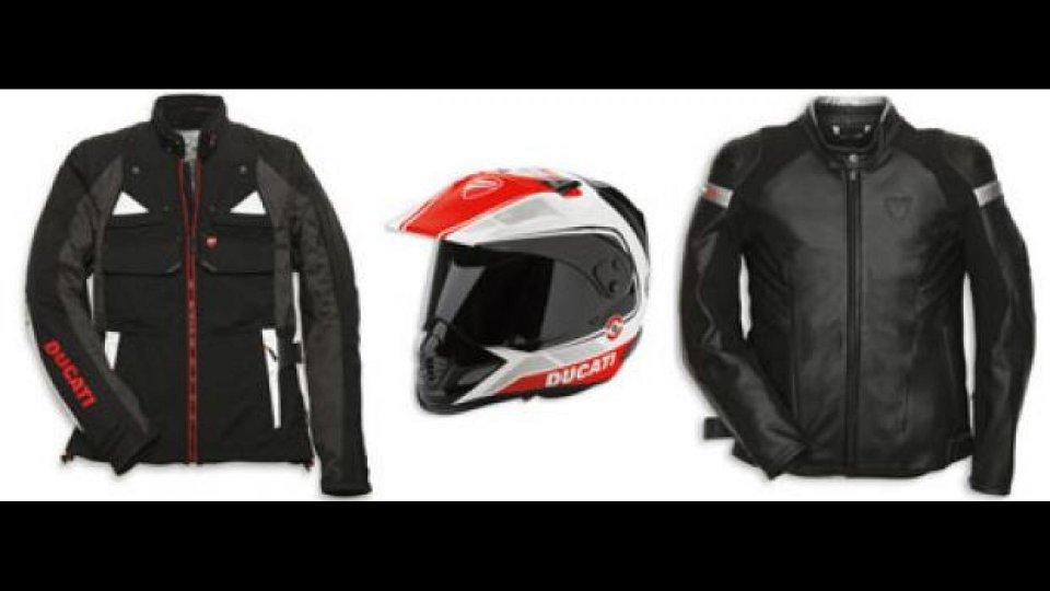 Moto - News: Ducati: abbigliamento autunno/inverno 2013