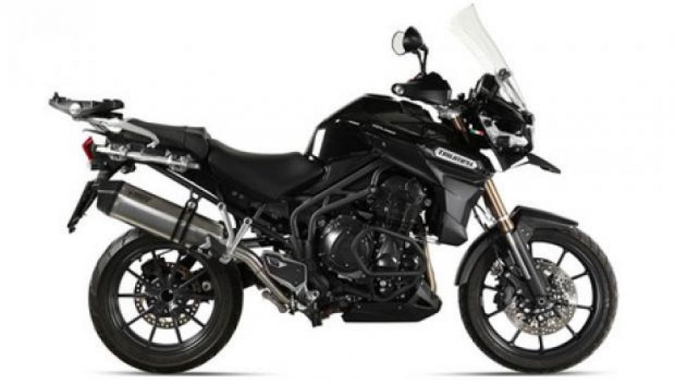 Moto - News: Mivv per Triumph Tiger 1200 Explorer