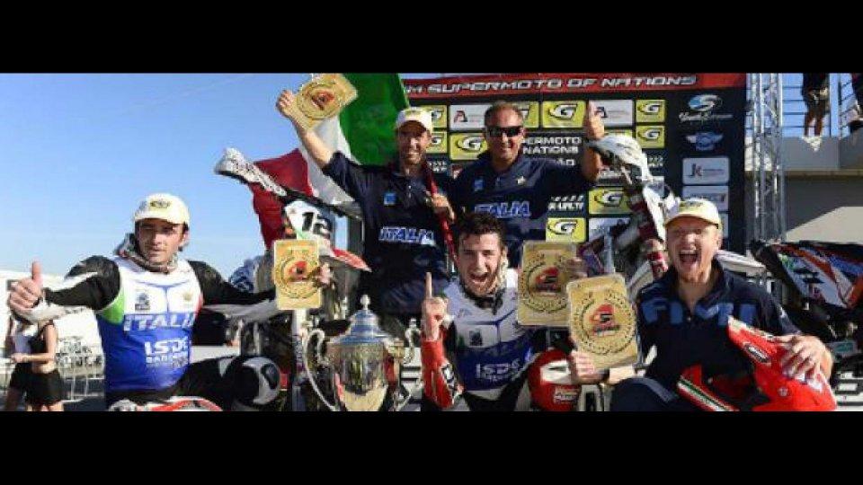Moto - News: Supermoto delle Nazioni 2012: l'Italia è Campione del Mondo!