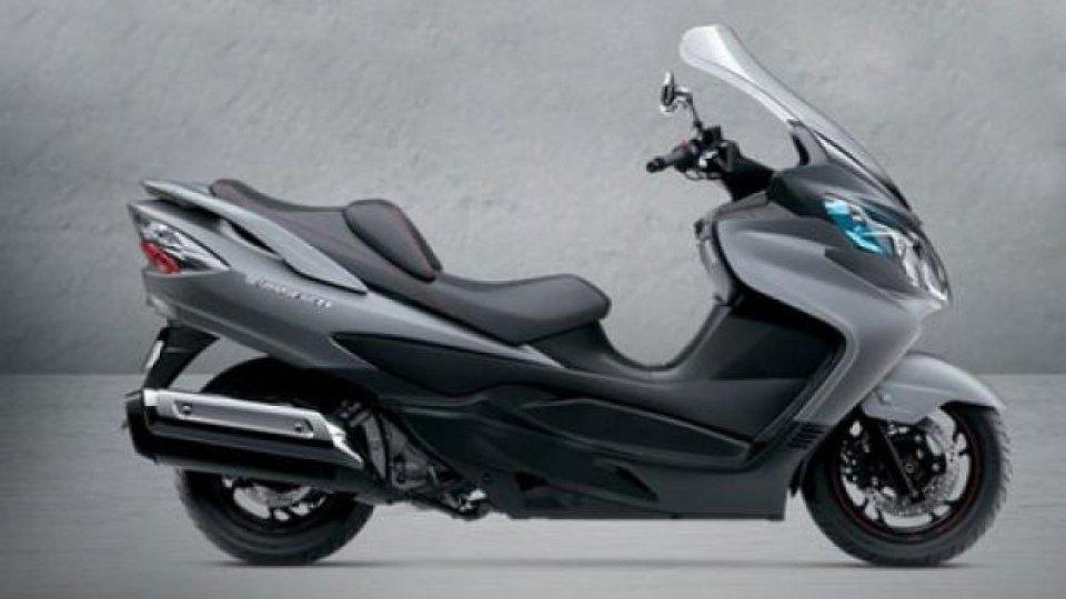 Moto - News: Suzuki Burgman 400 ABS 2013