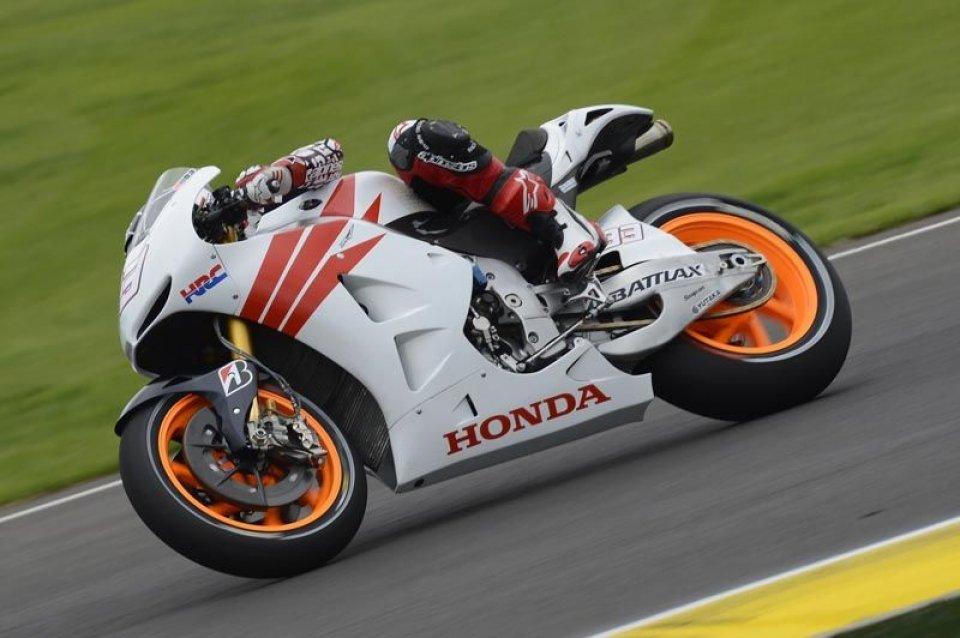 Moto - News: Marquez e Honda in galleria del vento