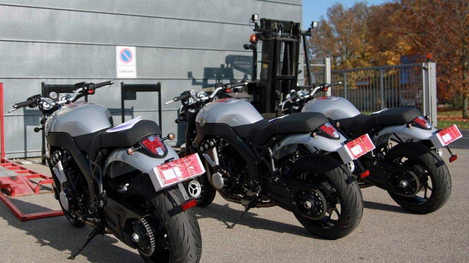 Moto - Gallery: Horex VR6 Roadster: le prime moto in concessionaria