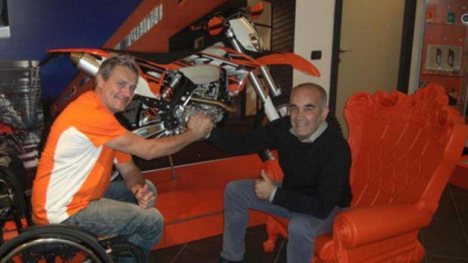 Moto - News: KTM: Nicola Dutto, sfide nel 2013