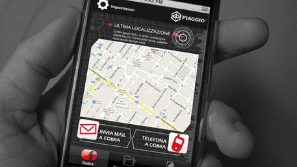 Moto - News: Cobra: un'App per proteggere moto e scooter del Gruppo Piaggio