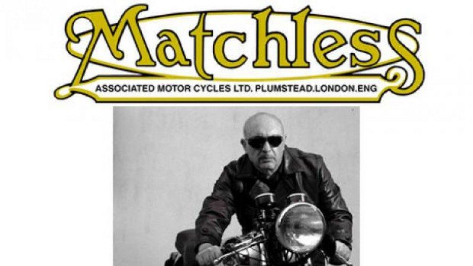 Moto - News: Rinasce la Matchless!