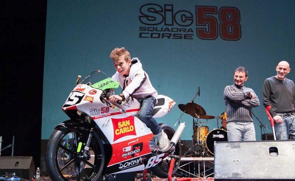 Moto - News: Honda Italia con 'Sic 58 Squadra Corse'