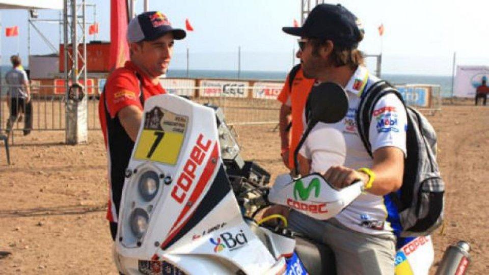 Moto - News: Dakar 2013, 1° tappa: Lopez mette tutti in fila