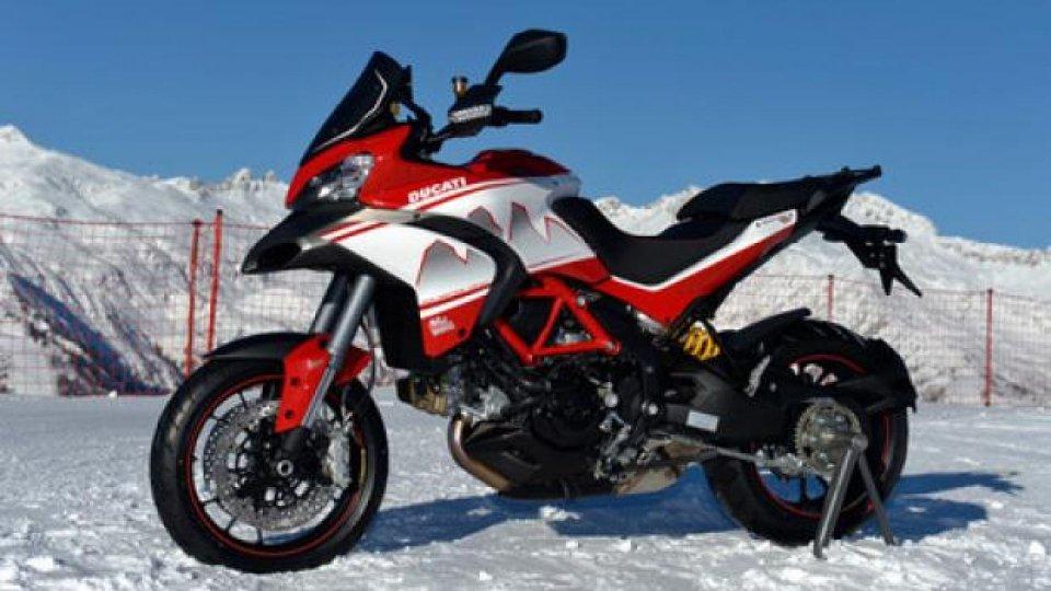 Moto - News: Ducati Dolimites' Peak a Wrooom 2013