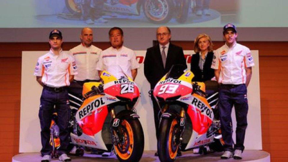 Moto - News: MotoGP 2013: presentata la Honda RC213V ufficiale - LE FOTO