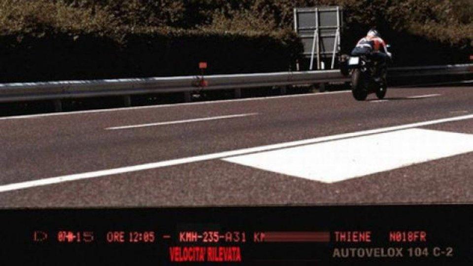 Moto - News: Multa supplementare e punti patente: un incubo sempre più pesante