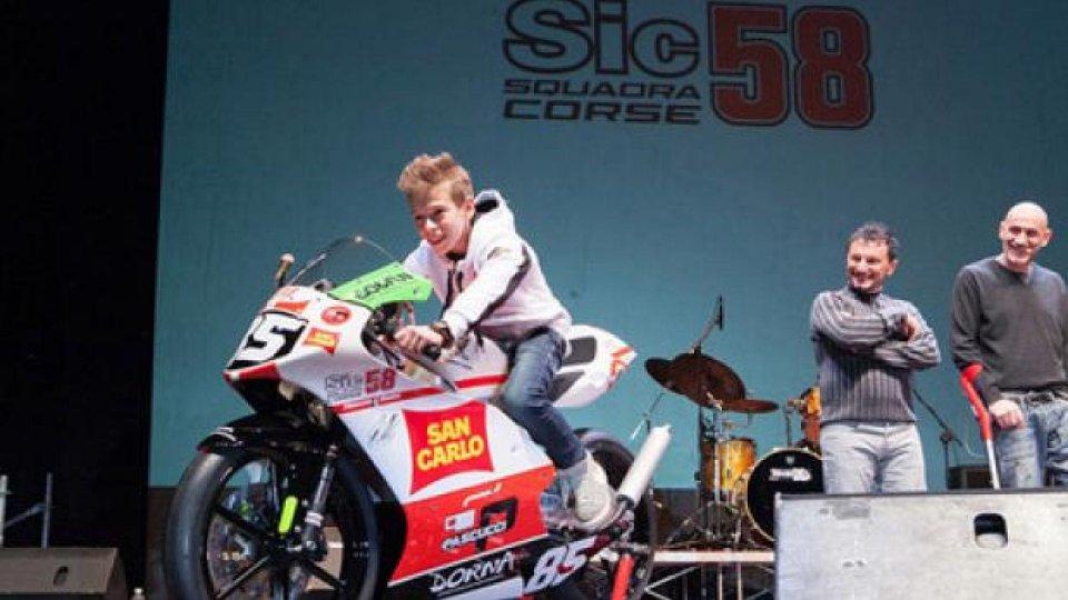 """Moto - News: Nasce """"Sic 58 Squadra Corse"""" di Paolo Simoncelli"""