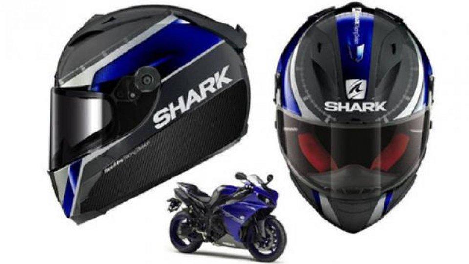 Moto - News: Shark: casco Race-R Pro Carbon con Yamaha