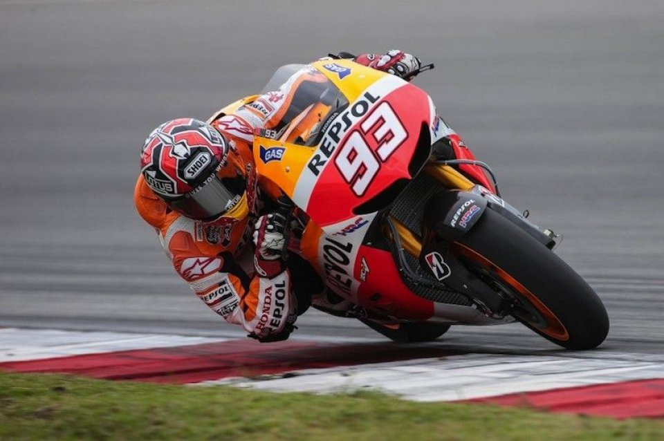 MotoGP: Marquez: in MotoGP l'aria punge a 300 all'ora