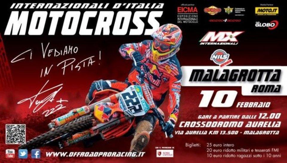 Moto - News: L'Ancma a sostegno del Motocross italiano