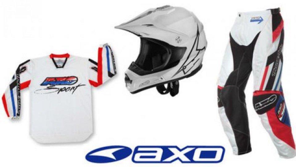 """Moto - News: Axo: la linea cross che fa un """"salto"""" nel passato, Trans Am"""