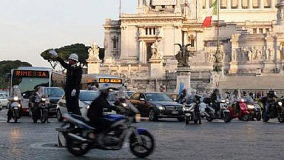 Moto - News: Blocco del traffico inquinante il 28 febbraio a Roma