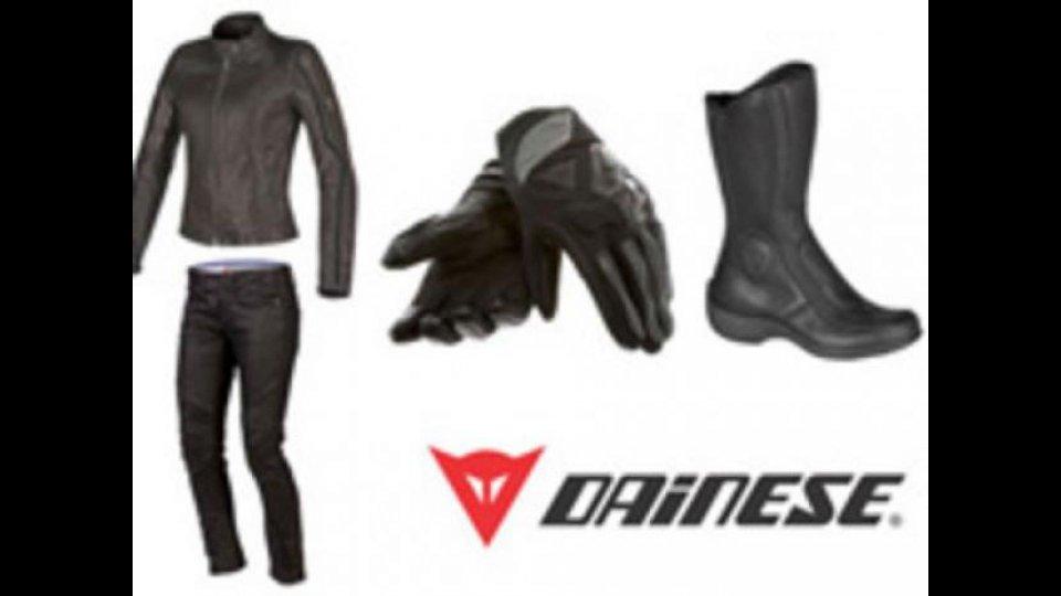Moto - News: Dainese: collezione primavera per Lei 2013