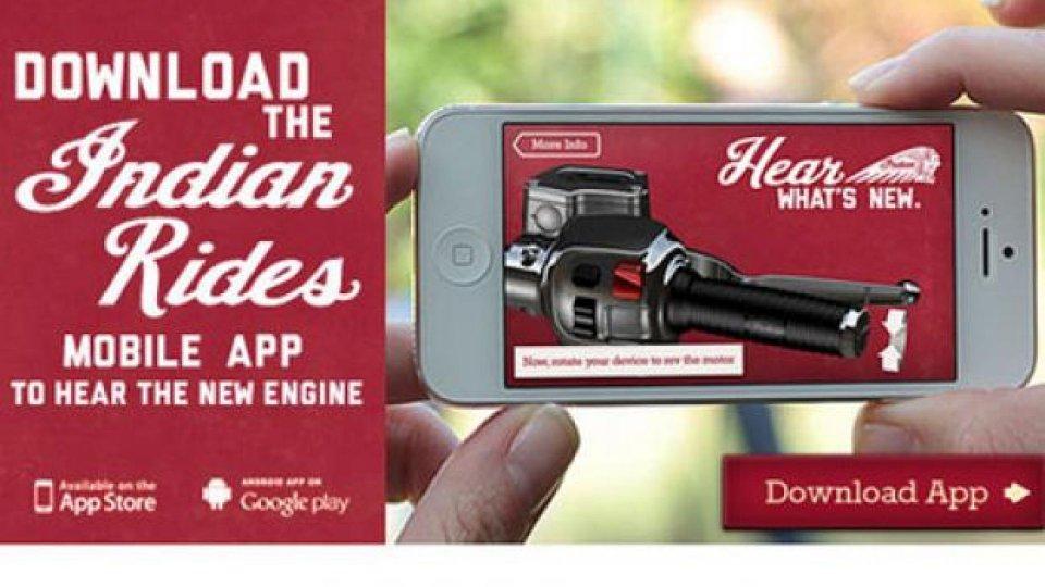 Moto - News: Indian Motorcycle: il sound del bicilindrico sul tuo smartphone