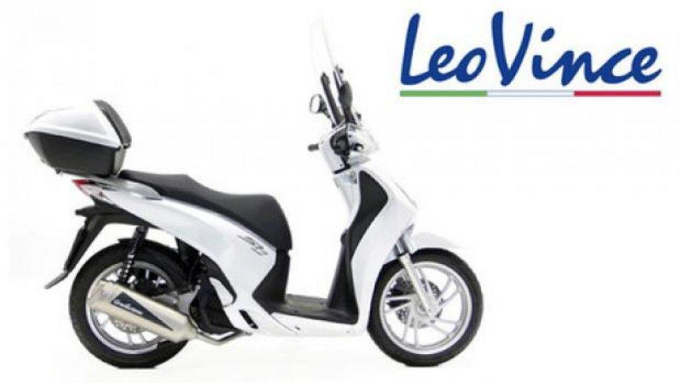 Moto - News: LeoVince: un nuovo scarico per SH 125 2013