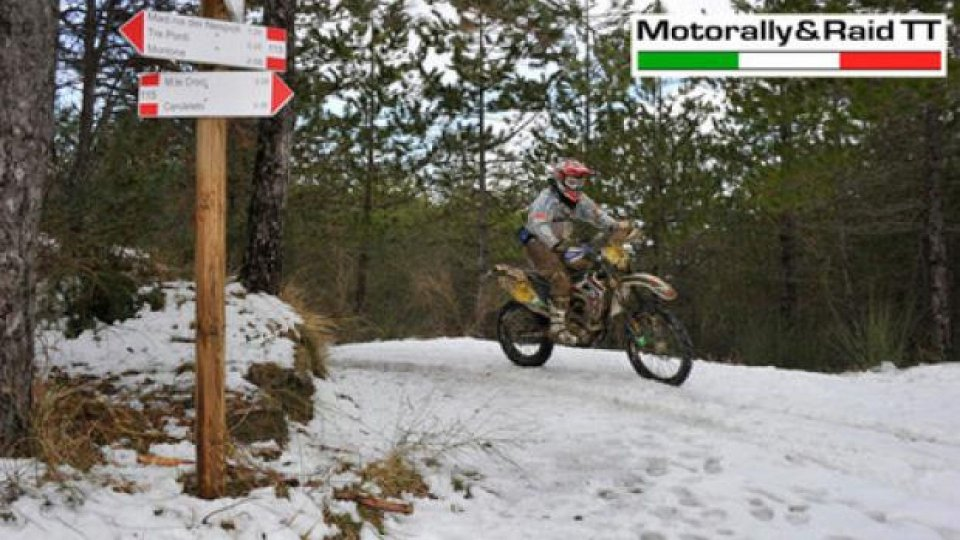"Moto - News: Motorally&Raid TT 2013: a scuola di ""Snow-Rally""!"