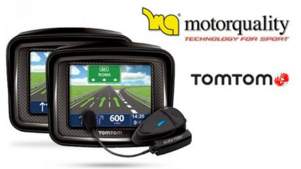 Moto - News: I navigatori TomTom Rider saranno distribuiti da Motorquality