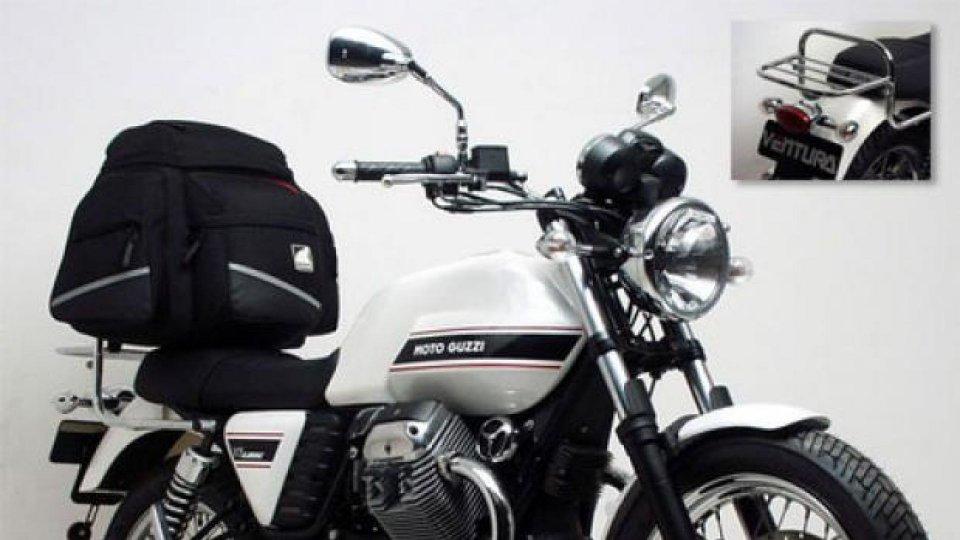 Moto - News: Ventura: Bike Pack System per Moto Guzzi V7