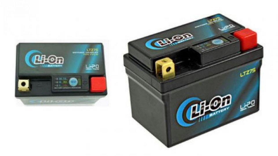 Moto - News: Li-On Battery: arrivano le batterie al litio anche per le moto