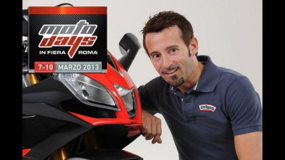 Moto - News: Max Biaggi testimonial di Motodays 2013