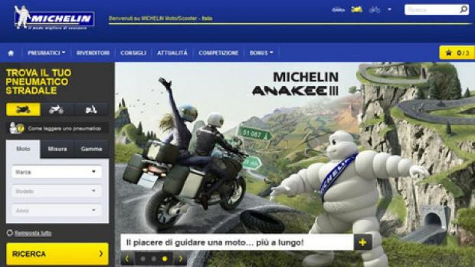 Moto - News: Michelin: è attivo il primo servizio consumatori dedicato ai pneumatici moto e scooter