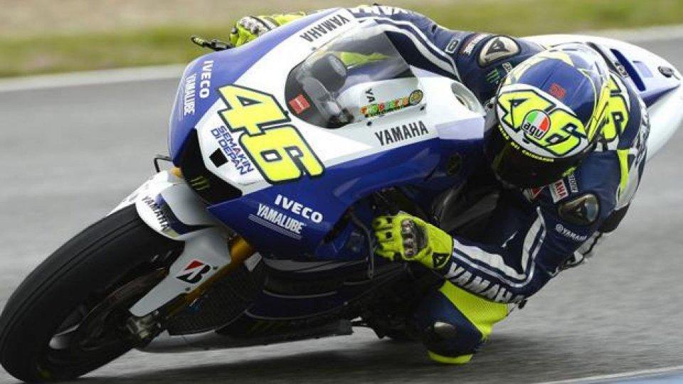 Moto - News: MotoGP 2013 Test Jerez: Rossi in vetta dopo due anni