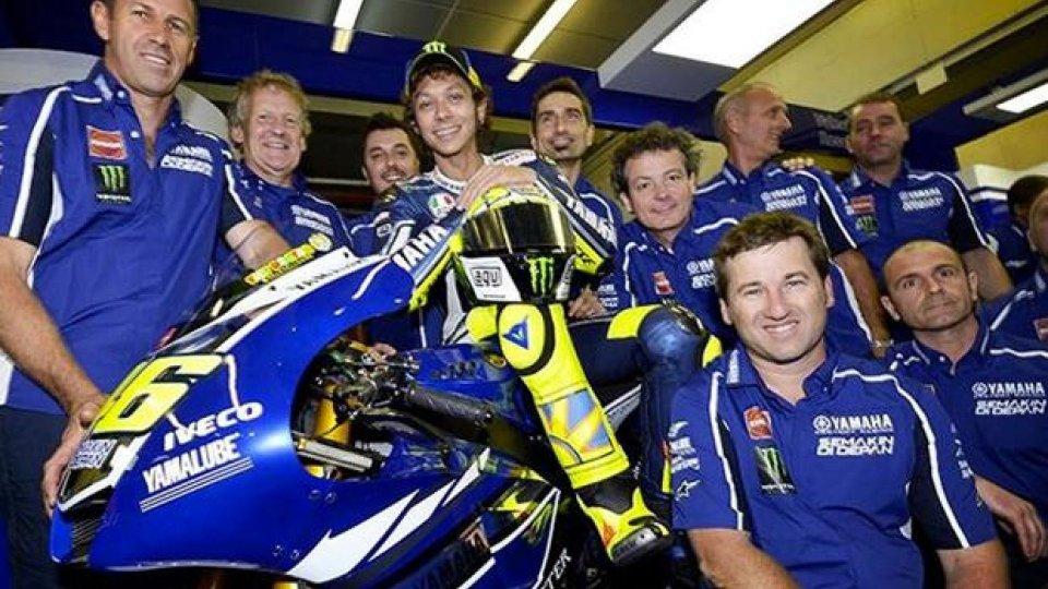 Moto - News: Valentino Rossi presenta la sua fanpage su Facebook