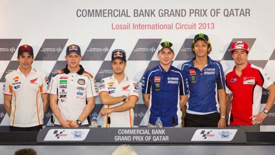 Moto - News: MotoGP 2013 Qatar: le dichiarazioni pregara