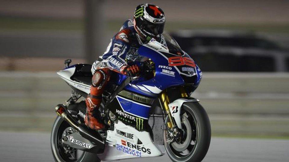 Moto - News: MotoGP 2013 Qatar: Lorenzo svetta nelle libere 1