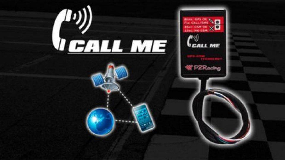 Moto - News: PZ Racing: localizzatore veicolo Call Me