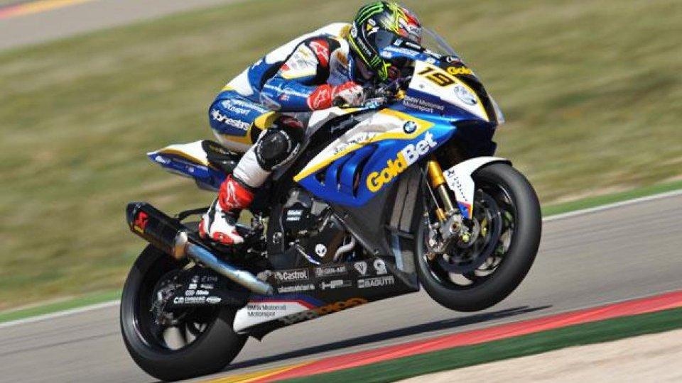 Moto - News: WSBK 2013, Aragon: bis di Davies in gara 2
