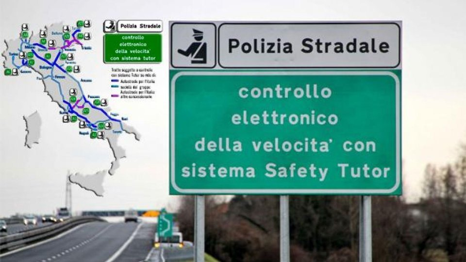 Moto - News: Autostrade: il tutor è attivo 24 ore su 24