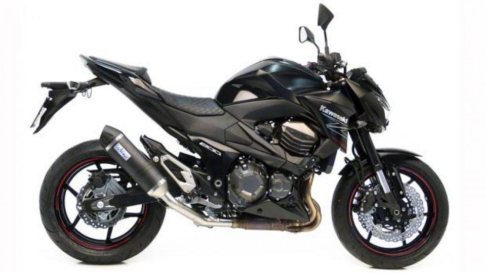 Moto - News: LeoVince SBK: Slip-on LV One Omologato Evo II per Kawasaki Z 800 2013