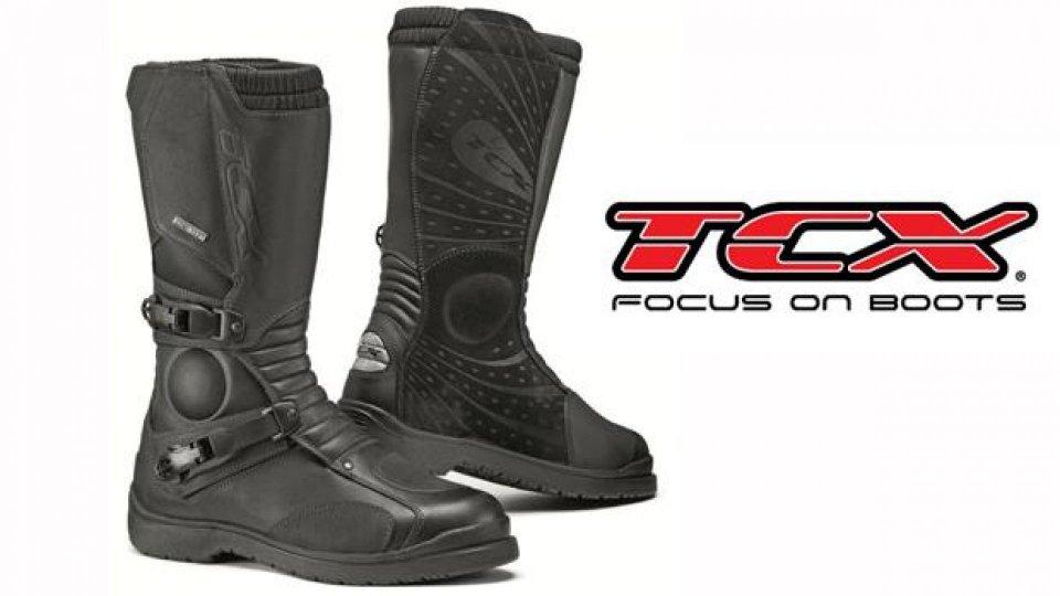 Moto - News: TCX Infinity Gore-Tex